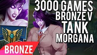 3000 Games. Bronze V. Tank Morgana Support Player... - Bronze Spectates