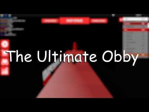 THE ULTIMATE OBBY [Lobby To Black]