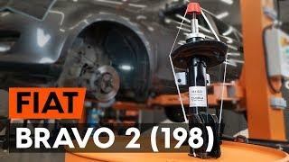 Montaje Amortiguadores traseros FIAT BRAVO II (198): vídeo gratis