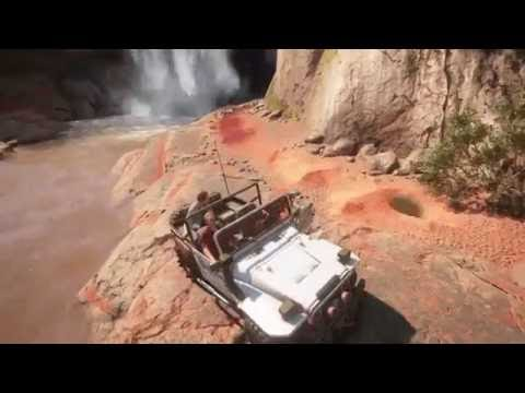 Uncharted™ 4: Treasure in cave behind waterfall Madagascar