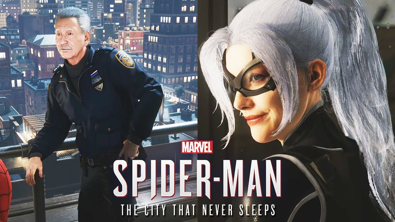 Download All Hidden Paintings/Black Cat's Dad is Alive - Spider Man PS4 THE HEIST