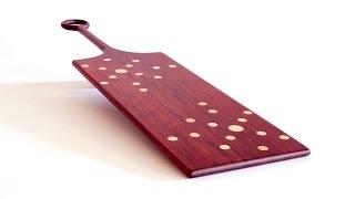 Wood Appetizer Plate