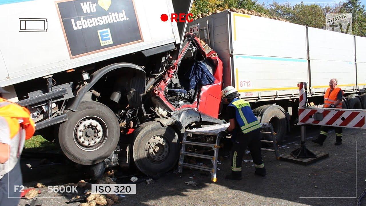 Schwerer Lkw-Unfall bei Weinsberg: A6 Richtung Heilbronn gesperrt ...