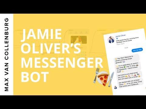 Messenger Bot Example: Jamie Oliver