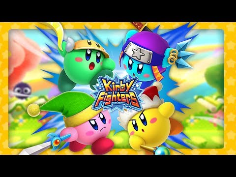 Kirby Triple Deluxe - Kirby Fighters (Multiplayer)