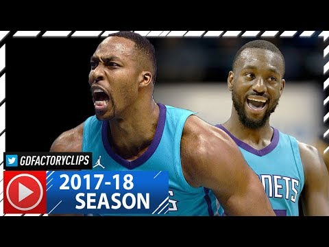 Kemba Walker & Dwight Howard Full Highlights vs Hawks (2017.10.20) - 46 Pts Total, CLUTCH!