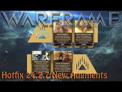 Warframe - Hotfix 24.2.7: New Augments thumbnail