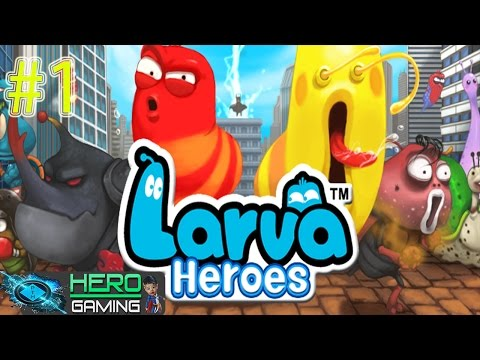 larva-heroes:-episode-2---android-gameplay-trailer-mobile-#1-✔
