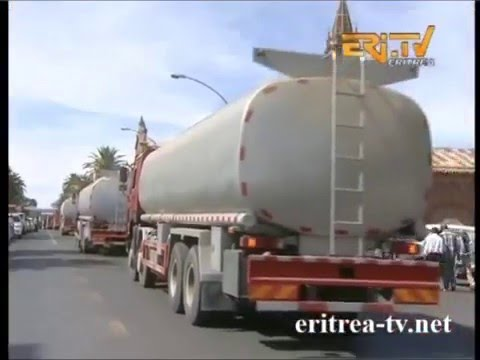 New 197 Eritrean Machinery Arrived in Eritrea - Asmara - December 2015