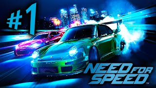 Need For Speed - Parte 1: Reboot, Drift e Pessoas Reais! [ Playstation 4 Playthrough PT-BR ]