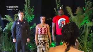 Usain Bolt scared by traditional Maori welcome thumbnail
