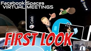 FACEBOOK SPACES FIRST LOOK!