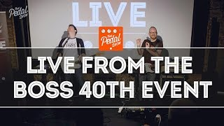 That Pedal Show – Live From The Boss 40th Anniversary Event In London