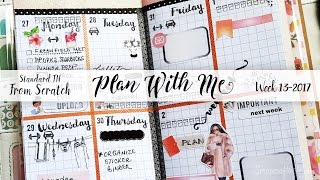 Week 13-2017 / Plan With Me