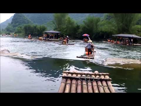 Yulong River ride: Yangshuo, Guanxi, China