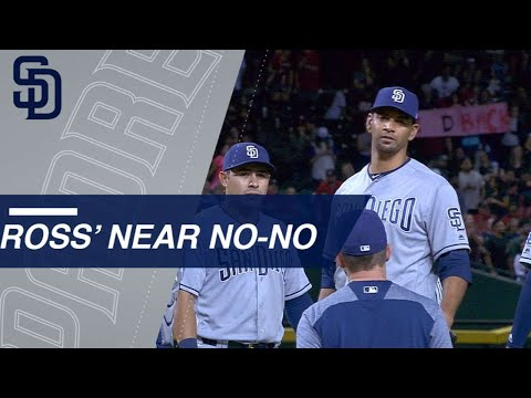 Ross comes 4 outs shy of no-no tyson ross