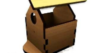 Build Your Own Wooden Bird House (b)!