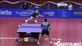 Qatar Open: Timo Boll-Zhang Jike