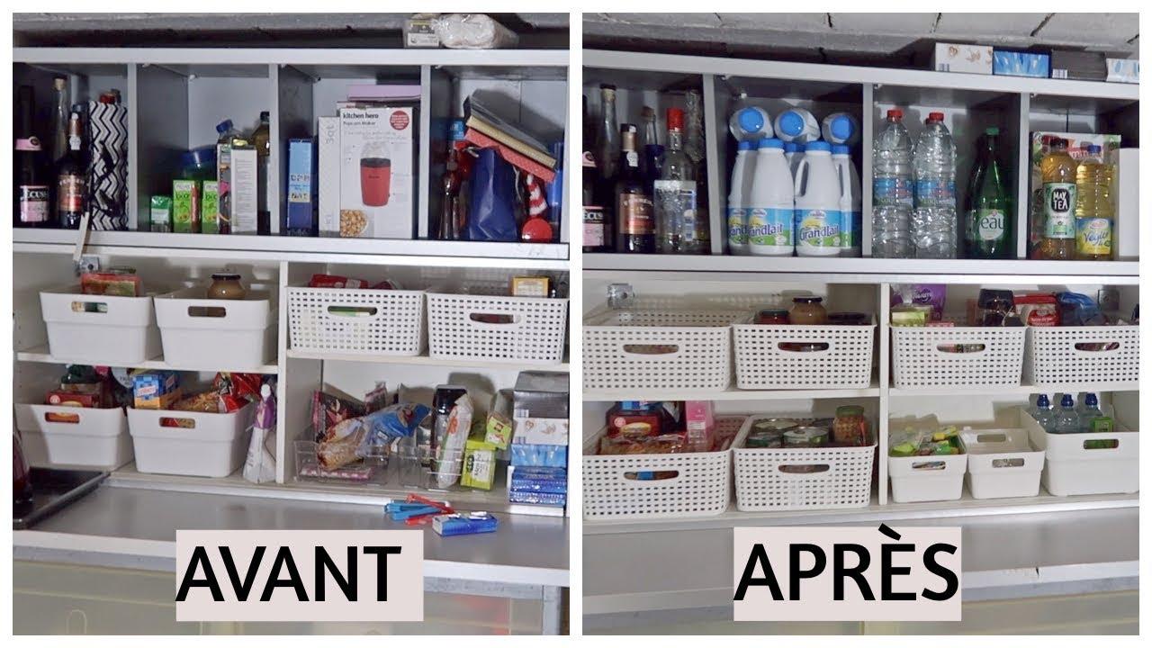 garde manger desencombrement et organisation astuces et organisation