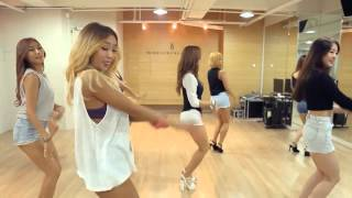 SISTAR 'I Swear' mirrored Dance Practice