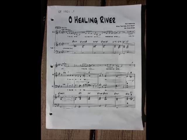 O Healing River Bryan Harder Soprano