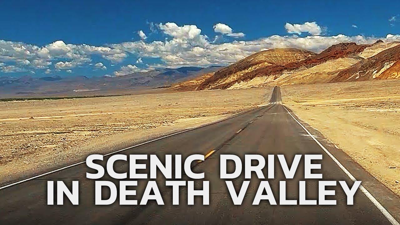 SCENIC DRIVE - Death Valley National Park, California, Nevada, USA, Travel, FHD
