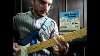 Gabriel Floriani - Into the fire (Deep Purple guitar cover with solo)