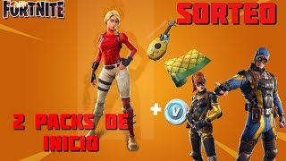 FORTNITE -- 2 PACK OF START OF THE 700 SUBS