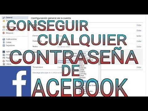 CONSEGUIR CUALQUIER CONTRASEÑA DE FACEBOOK   GARANTIZADO.
