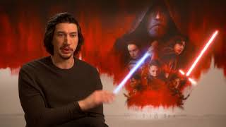 STAR WARS - THE LAST JEDI Interview Adam Driver - Kylo Ren - Rey - Dark Side - Snoke