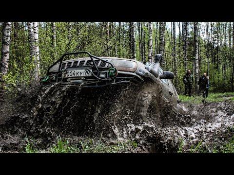 Подготовленный Cherokee V8-грязь его стихия!