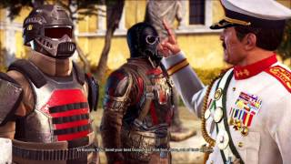"""Just Cause 3 - Bavarium On A Plane: Di Ravello Beats His Soldier To Death """"Clean That Up"""" Cutscene"""