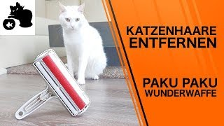 🔥Katzenhaare entfernen - Paku Paku Multi-use Test - Tierhaare entfernen Sofa, Teppich, Stoffbezüge