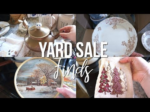 Decorating With Yard Sale Finds  from i.ytimg.com