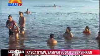 Video PASCA NYEPI, SAMPAH SUDAH DIBERSIHKAN download MP3, 3GP, MP4, WEBM, AVI, FLV Juli 2018