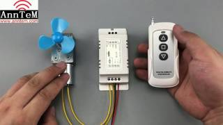 DIY Universal 433mhz Wireless Remote Control Switch motor  9v to12v DC Controller Forward Reverse