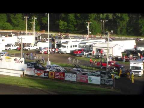Stock Car Heat 3 @ Hamilton County Speedway 06/17/17