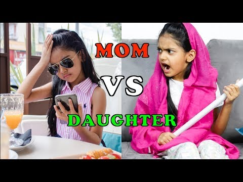 Daughter VS Mom   FUNNY   Aimalifestyle
