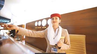 Biznes klasa | samolot Fly Emirates!