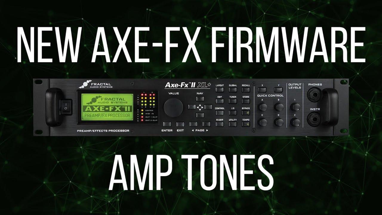 FRACTAL AUDIO AXE-FX II XL PREAMPLIFIER QUANTUM DRIVER FOR WINDOWS MAC