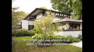 Your Opportunity to Own a Frank Lloyd Wright Original Home