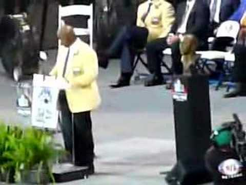 Hall of Fame Speech Thurman Thomas