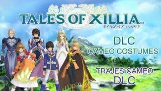 [ Tales of Xillia ] DLC Cameo Costume - Trajes Cameo DLC (Phantasia - Destiny - Eternia - Symphonia)