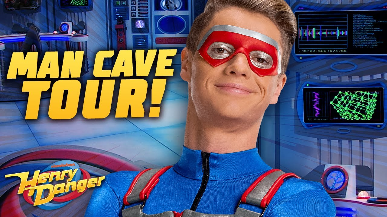 The 'Man Cave' Real Estate Tour! | Henry Danger