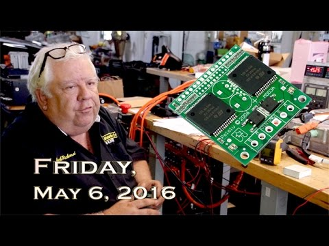 EVTV Friday Show - May 6, 2016.  Tesla Electronic Parking Brake