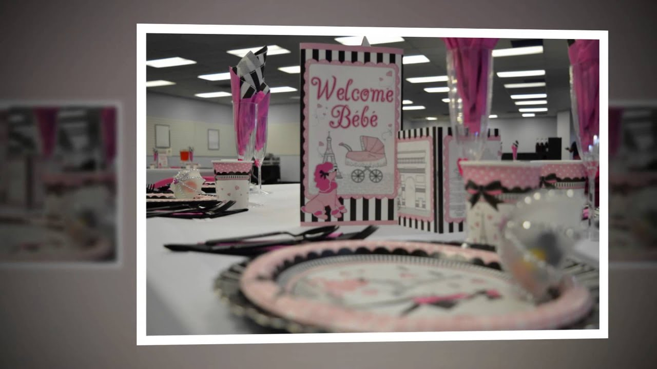 Paris Themed Baby Shower Done By Tiffany For Bad 2the Bone Events