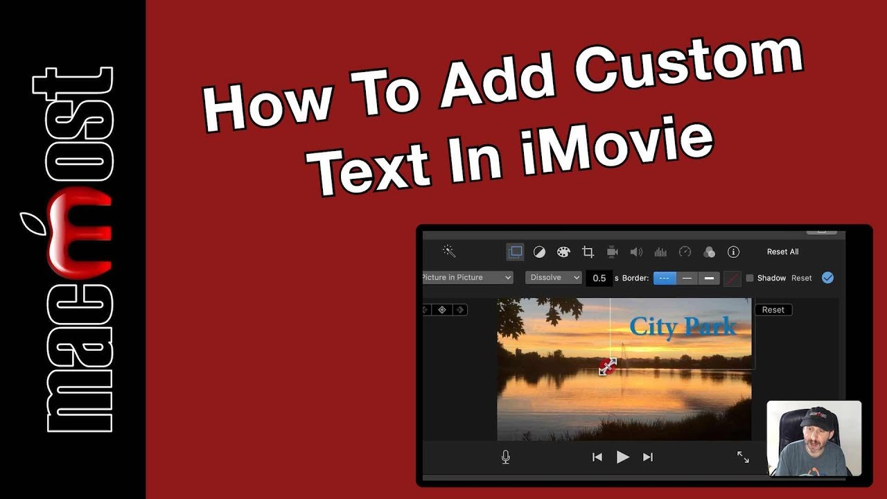 How To Add Custom Text In iMovie