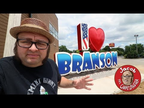 George Spankmeister - Some dude with crazy sideburns gives us a tour of Branson.