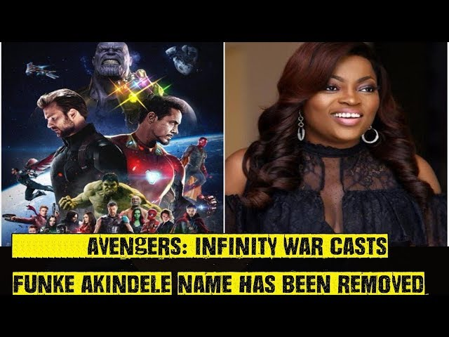 Funke Akindeles Name Removed From Avengers Infinity War Casts?