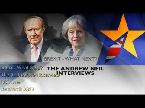 Brexit: What Next?  The Andrew Neil interview
